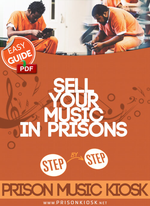 how to distribute music song mp3 kiosk prison jail system